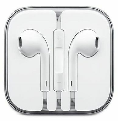 Auriculares Cascos iPhone 4 5 6 7 Plus iPad iPod 100% COMPATIBLE APPLE Blanco