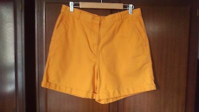 Ralph Lauren Size 14, Orange Shorts 100% Cotton  - Summer Festival
