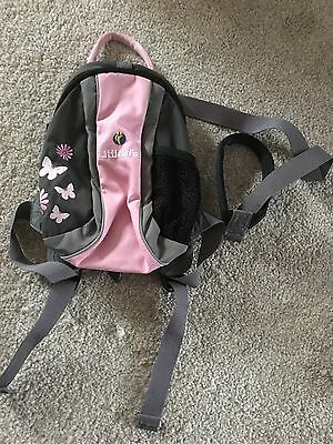 Little Life Backpack With Reins Butterfly