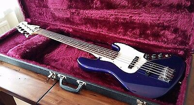 Fender Jazz Bass 5 string with hard case - Made in Mexico - MIM