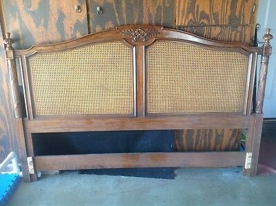 antique leureate headboard