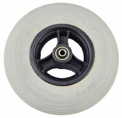 Wheelchair / Mobility Aid Castor Wheel Solid - 200x50mm