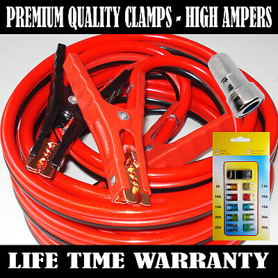 Industrial Heavy duty 16 Feet 2 Gauge Booster Jumper Cables