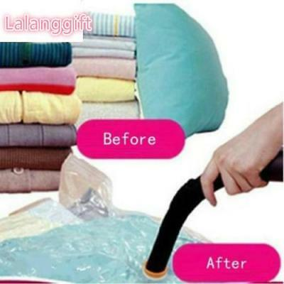 4 Size Pratical Big Vacuum Compressed Storage Bags Package Quilt Cloth Organizer