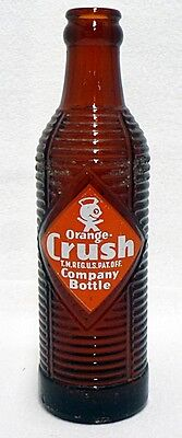 Vintage 7 Fluid Ounces Orange Crush Soda Pop Bottle