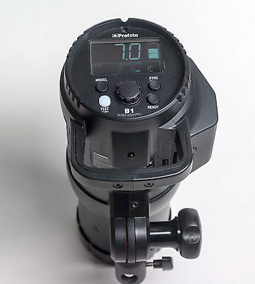 Profoto B1 500 Air TTL Battery Powered Monolight Strobe Extra Battery