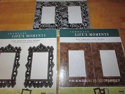 wall decal picture frames,set of 27 mixed variety-new, Free shipping!