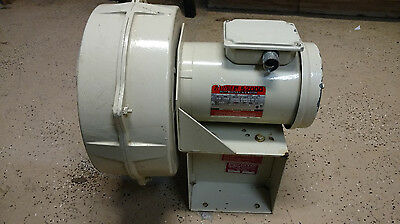 "Cincinnati 8"" FAN Blower LM-8 Phase 3 RPM 1725 HP 1 1/2 208-230/460-480"