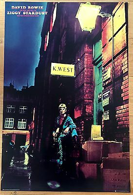 David  Bowie Ziggy Stardust And The Spiders From Mars 24 x 36  poster