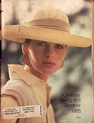 Vintage 1985 Jc Penney Spring Summer Catalog Fashion Wedding Gown Bathing Suits