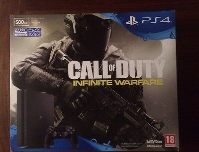 SONY PLAYSTATION PS4 Call Of Duty 500GB COMPLETE REPLACEMENT BOX NO CONSOLE INC