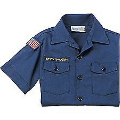 CUB SCOUT UNIFORM SHIRT  Youth Small 6-8  BSA Short Sleeve New