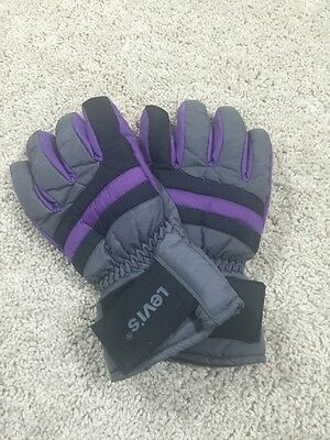 Levis Snow Ski Women's Gloves Size Large