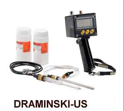 DRAMINSKI pH METER KIT for Soil and Liquids Soil Acidity Testing in Field