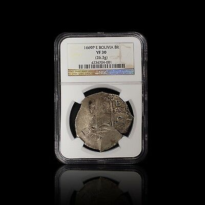 1669P E Bolivia 8R NGC VF 30 Very Choice