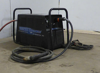 Victor Thermal Dynamics Cutmaster 151 Plasma Cutter SL100 20' Hand Torch 100A
