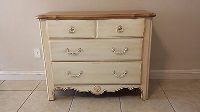French Country 3 Drawers Chest by Ethan Allen