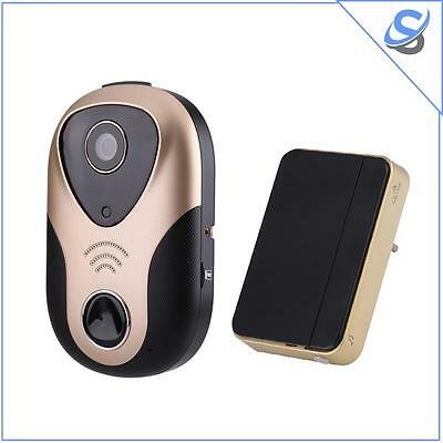 Wireless Video Doorbell 720p Two Way Audio Night Vision Mobile Support