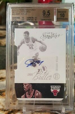 Jimmy Butler Auto Rc Bgs 9.5 W/10 Autograph Rookie Mint Panini Signatures