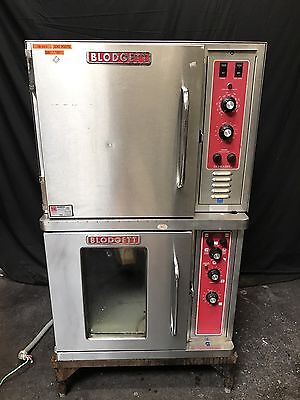 Blodgett Double Stack Half Size Electric Stainless Bakery Convection Oven CTB-1