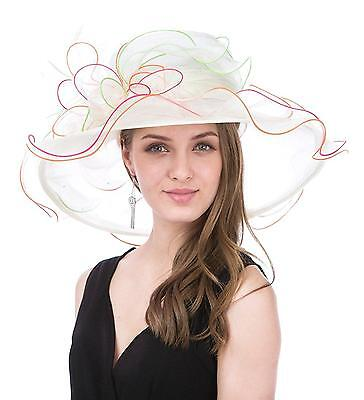 Saferin Women s Church Christening Derby Kentucky Wedding Formal Party Hat...