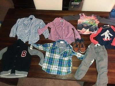 Polo Ralph Lauren Old Navy Crazy 8 Children's Place Baby Boy Toddler Clothes Lot