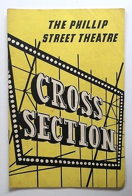 Cross Section 1958 The Phillip Street Theatre June Salter Ruth Cracknell