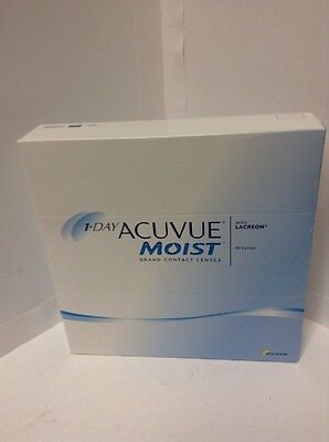 1-Day ACUVUE Moist 14.2DIA -D-5.50- BC8.5  NEW SEALED