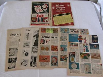 Lot Of Vintage Shopping Catalogs Out Of Magazines
