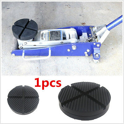 Cross Slotted Frame Rail Floor Jack Disk Pad Adapter for Pinch Weld Side JACKPAD