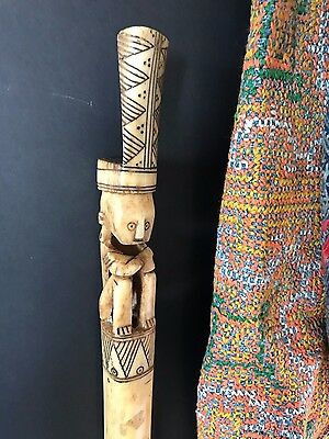 Old Timor Tuntun Pig Trap Stick / Pig Charm …a unique collectors piece