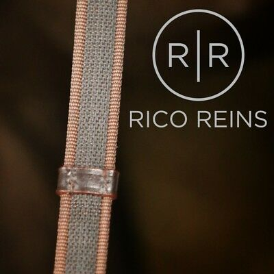 Rico Reins Continental Extra Grip Reins Black Brown Various Sizes