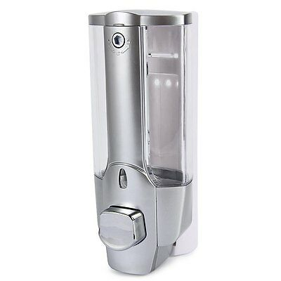 350ml Wall Mount Soap Sanitizer Bathroom Shower Shampoo Dispenser Home NEW