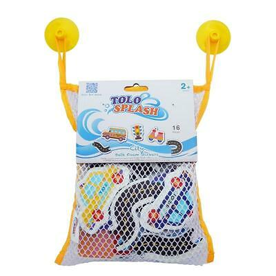 NEW Tolo Toys City Traffic Foam Bath Stickers - 16 pieces
