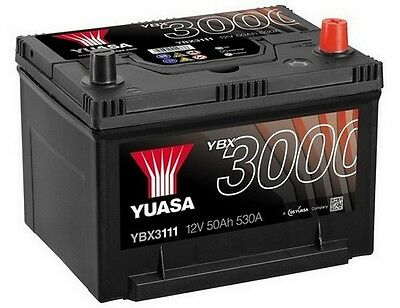 Ford USA Probe Mk2 (94-98), Mazda Xedos YUASA 12V Car Battery YBX3111 111