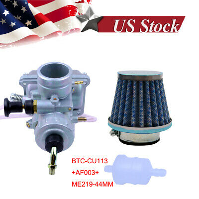Carb Carburetor W/ Air Filter For Yamaha YZ80 YZ85 DT125 Motorcycle