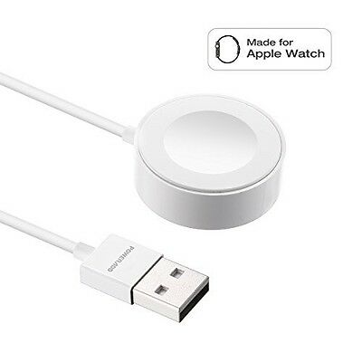 Apple Watch Charger Dock Poweradd iWatch Magnetic Charging Cable 38mm & 42mm New