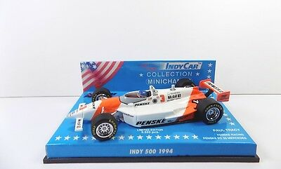 Minichamps Indy 500 1994 Paul Tracy Penske Racing Mint Boxed 1:43