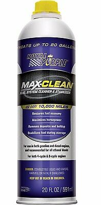 11722 Royal Purple Max-Clean Fuel System Cleaner and Stabliser 591ml