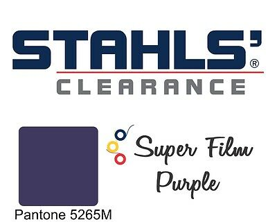 "20"" x 5 Yards - Stahls' Super Film - Heat Transfer Vinyl HTV - Purple"