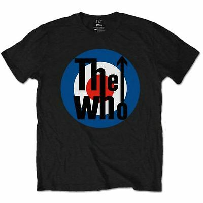 THE WHO 'TARGET LOGO' T-Shirt - LICENSED OFFICIAL THE WHO MERCHANDISE