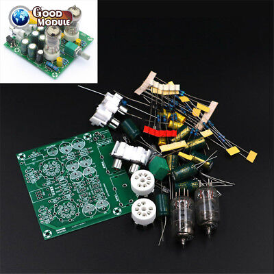 Valve 6J1 DIY Tube Amplifier Preamp AMP Pre-Amplifier Board Headphone Buffer Kit