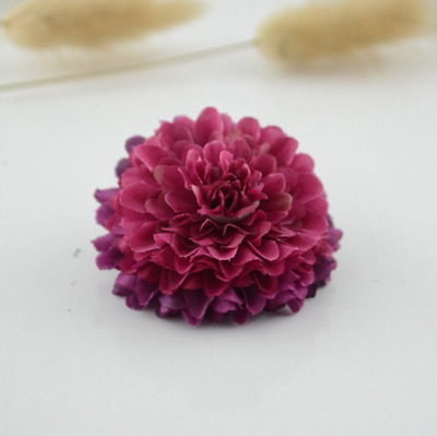 NEW Beautiful PAIR of Dahlia Flower Hair Clips, 15 Colours, UK Seller