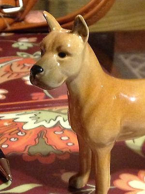 VINTAGE GREAT DANE Dog FIGURINE Goebel W Germany