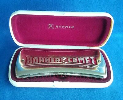ARMONICA A BOCCA HOHNER COMET No 3427 VINTAGE MADE IN GERMANY