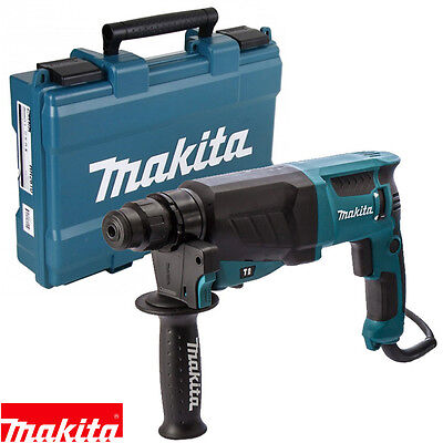 Makita HR2630/2 800W 3-Function SDS Plus Rotary Hammer Drill 240V
