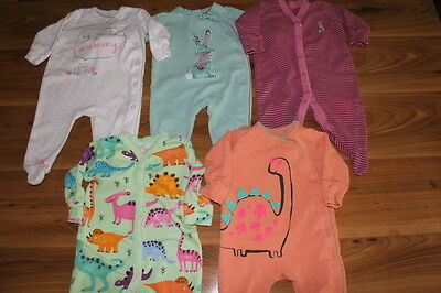 NEXT girls sleepsuits baby gro 0-3 months *I'll combine postage