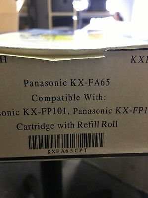 Office Depot Replacement Fax Cartridge For Panasonic KX-FA65 Lot of 2