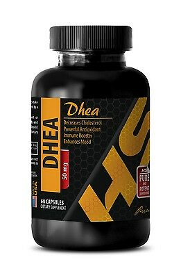 Stamina pills DHEA 50 mg ANTI-AGING immune support oil 1 Bottle