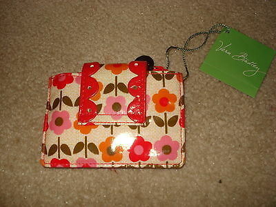 NWT Vera Bradley Pretty Petite Card Holder Folkloric New Business Cards Coins +